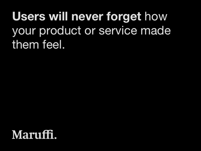 A quote about design service design product design mario maruffi user experience ux quote design