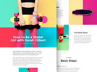 A Layout Example for Divi Builder Plugin