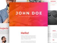 John Doe for Divi