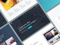 Landing Page UI Kit for Divi