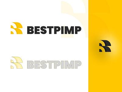 BESTPIMP LOGO b monogram black yellow branding figmadesign figma brand identity logodesigns logodesign b type b letter logo b logo