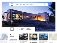 Massive homepage