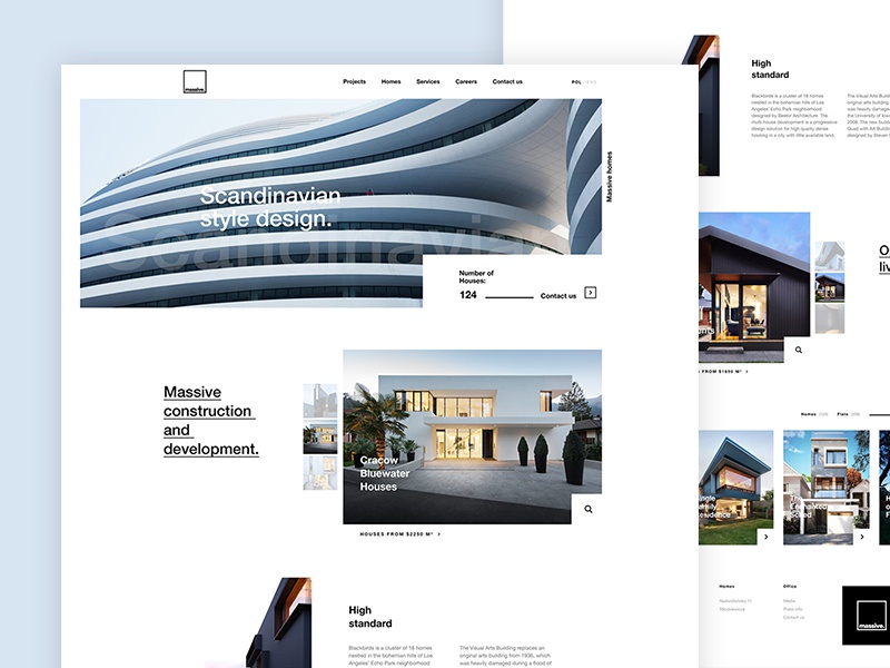 Massive Houses by Kamil Glowinski – Dribbble