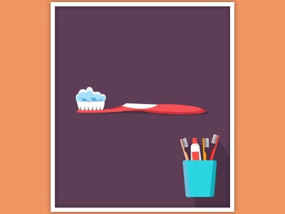 Do you also cloud the Toothpaste? creativity graphic design illustrator graphic graphic design