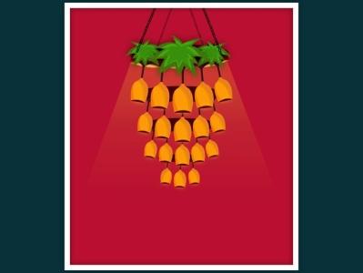 Wine glasses as Chandelier graphic  design creativity illustration graphic design illustrator graphic design