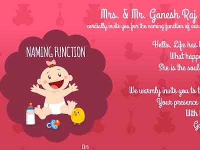 Baby Naming Function