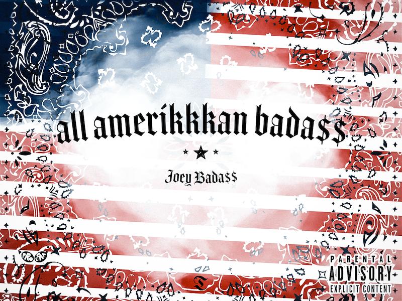 ALL AMERIKKKAN BADA$$ north america usa freedom jazz music album cover album art rap hip hop joey bada$$