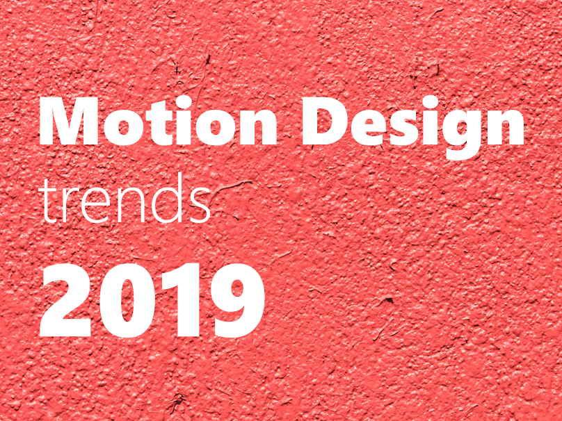 Motion design trends 2019 by Aztec Animation on Dribbble