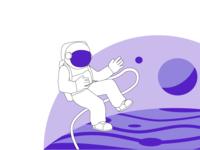 Astronaut | bring2me Illustration