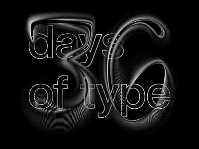 my 36dayoftype 36days letters 36daysoftype