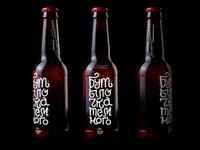 Beer lettering