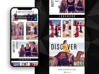 Raisa&Vanessa Newsletter branding luxury brand newsletter template newsletter design newsletter email campaign mailing