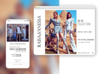 Raisa&Vanessa Showroom Newsletter
