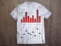 Equalizer Music T-shirt