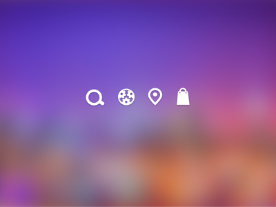 miniset icon search service find map cart icons sketch