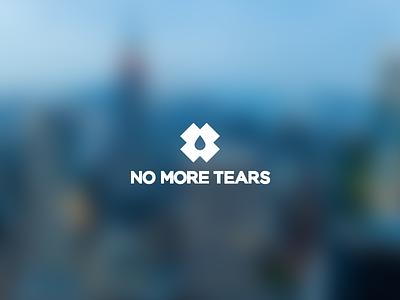 No More Tears logo logo x illustrator identity vector logotype