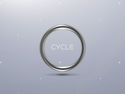 Cycle teaser circle round cycle teaser vector sketch