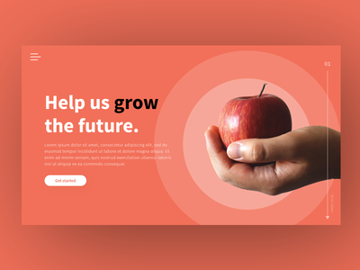 Landing Page UI Concept
