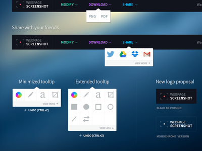 Chrome plugin redesign proposal redesign ui ux tool plugin tooltip source sans pro