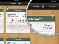 Ipad app UI - try#1