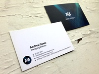 Movie Manager Business Cards