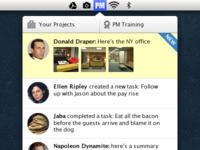 Project Management Mac App Concept