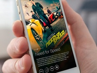 Minimal Cinema App Concept