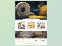 Ocha Organic Soap Landing Page
