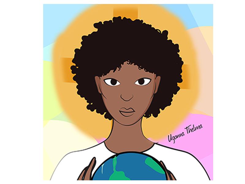 Queen illustration