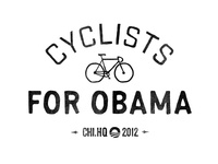Cyclists for Obama