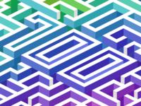 Isometric 700 maze