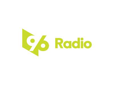 96 Radio brand sign logo