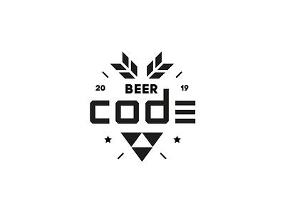 BeerCode - Beer brand concept branding logo