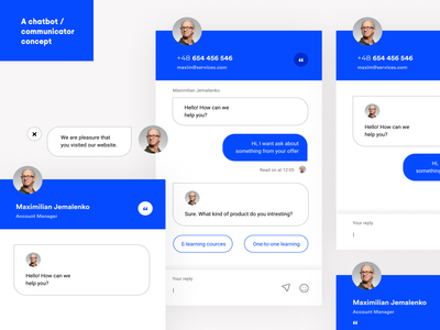 Chatbot / Communicator UI