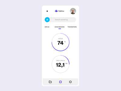 FlyDrive Mobile, Dashboard concept figma styleguide flydrive