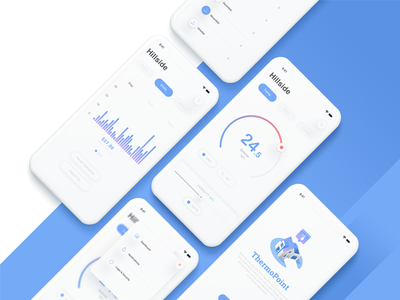 ThermoPoint thermo thermometer thermostat ux uiux concept ui