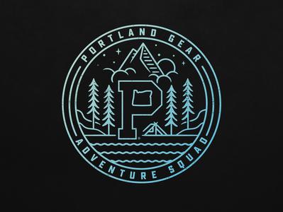 PAC Circle apparel mark graphic design oregon portland branding illustration logo typography