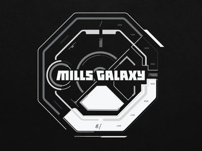 General Mills - Mills Galaxy starwars mark graphic typography branding logo illustration