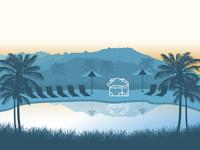 Palm Springs illustration
