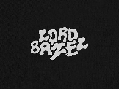 Lord Bazel work mark hollywood los angeles drugs weed brand jewelry logo typography word mark