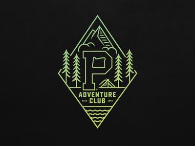 PAC Diamond apparel mark graphic design oregon portland branding illustration logo typography