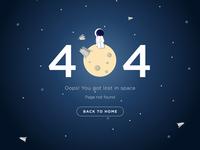 #008 DailyUI - 404 Page