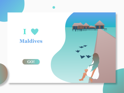 Travel Web Site (I Love Maldives)