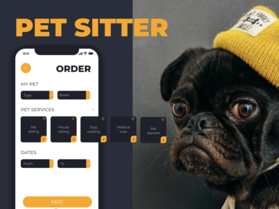 "Mobile app ""Pet Sitter"""