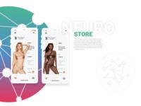 "Interactive application ""Neuro Store"""