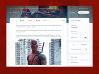 Wix blog redesign
