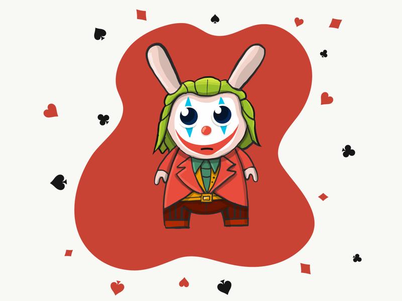 joker Dunny procreate ipad illustrator dunny movie joker