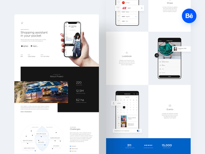 Forum Gdańsk –Case Study behance project shopping center mall google play app store mobile design mobile app ui  ux ui case android shop ios shopping mobile app case study behance