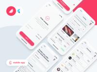 Lunching meets Flutter –mobile app