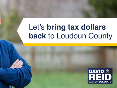 David Reid for Delegate politics ads